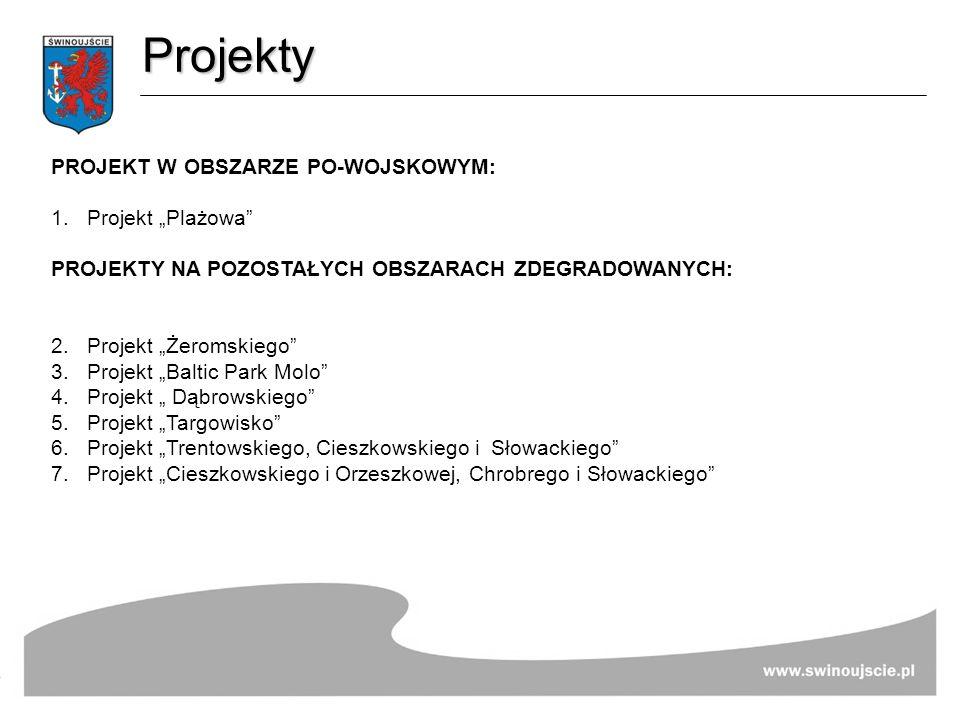 """Projekty PROJEKT W OBSZARZE PO-WOJSKOWYM: Projekt """"Plażowa"""