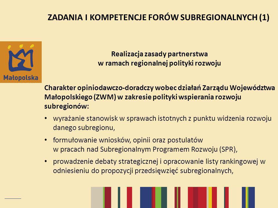 Realizacja zasady partnerstwa w ramach regionalnej polityki rozwoju