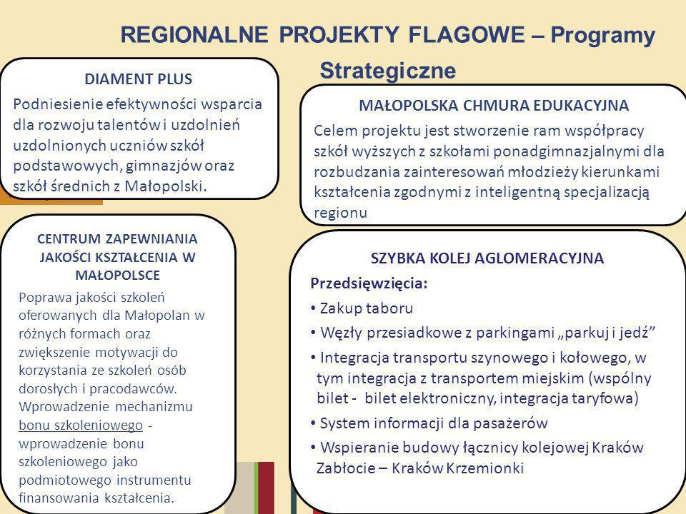 REGIONALNE PROJEKTY FLAGOWE – Programy Strategiczne