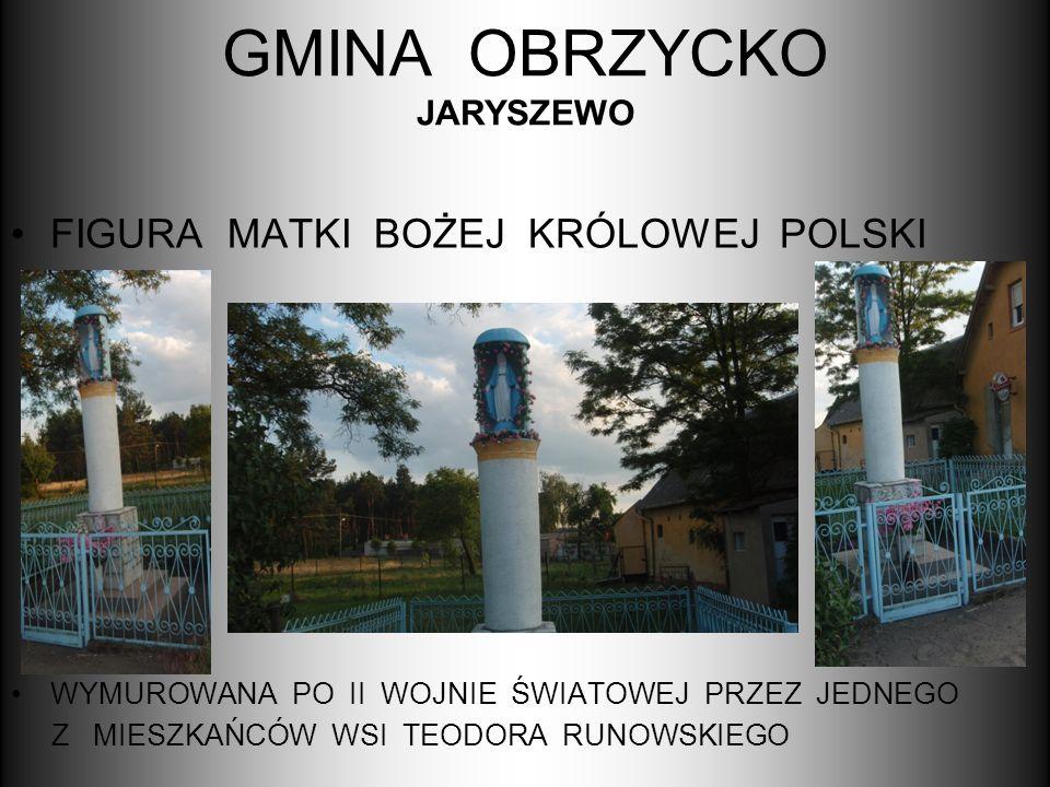 GMINA OBRZYCKO JARYSZEWO
