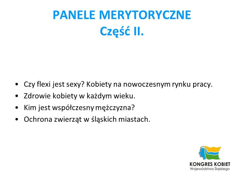 PANELE MERYTORYCZNE Część II.