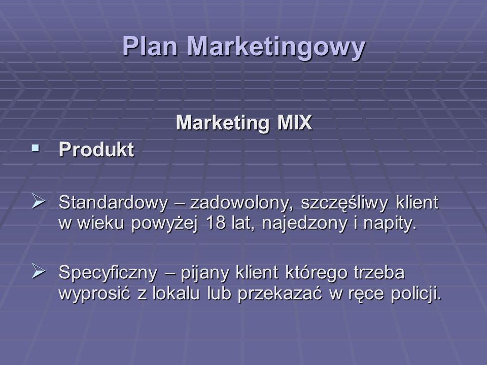 Plan Marketingowy Marketing MIX Produkt