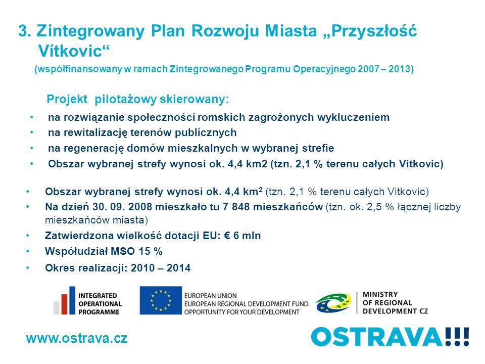 """3. Zintegrowany Plan Rozwoju Miasta """"Przyszłość Vítkovic"""