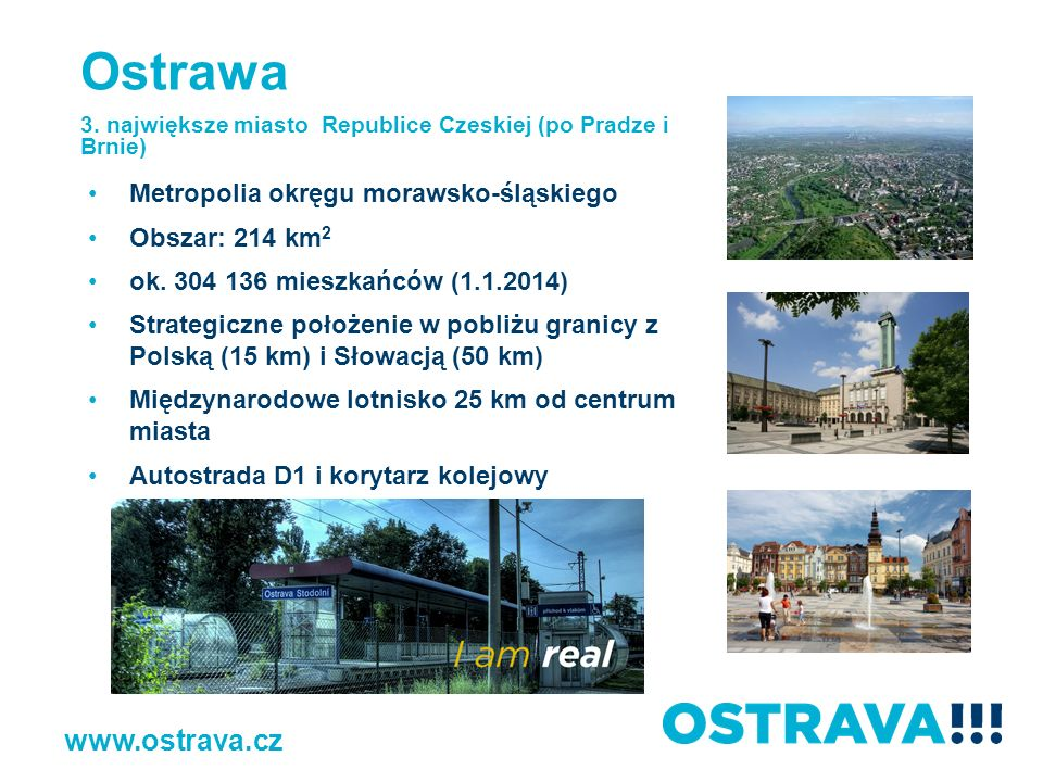 Ostrawa www.ostrava.cz Metropolia okręgu morawsko-śląskiego