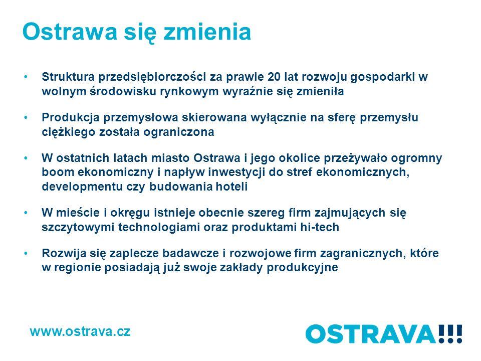 Ostrawa się zmienia www.ostrava.cz