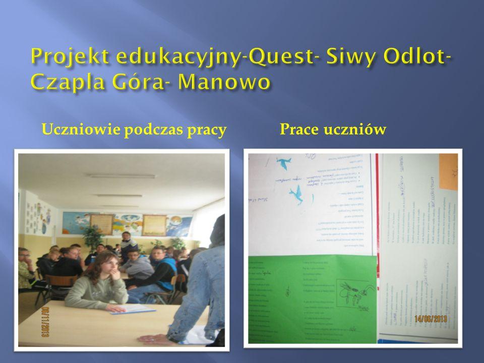 Projekt edukacyjny-Quest- Siwy Odlot-Czapla Góra- Manowo