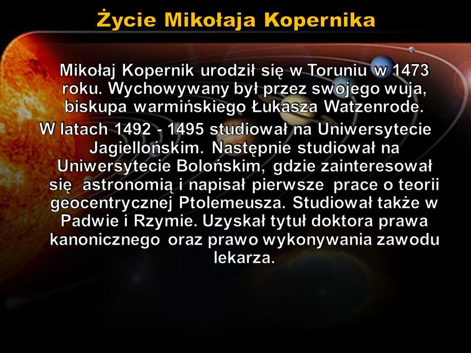 Życie Mikołaja Kopernika