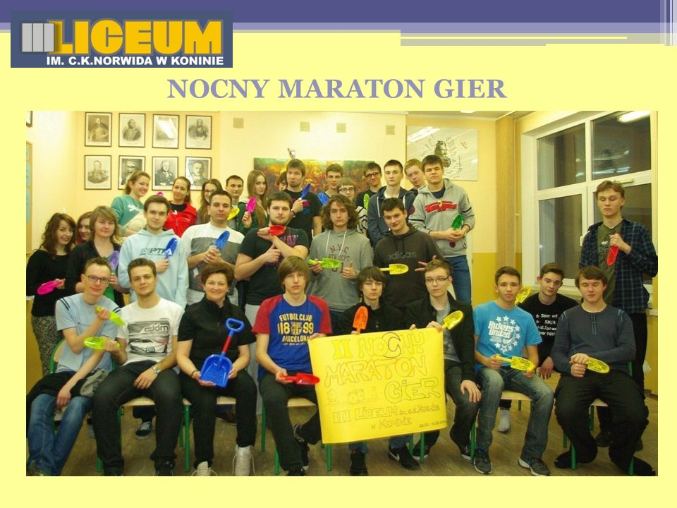 NOCNY MARATON GIER