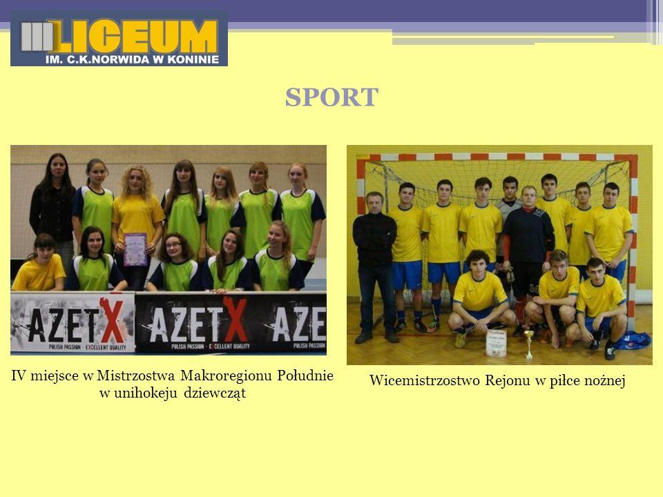 IV miejsce w Mistrzostwa Makroregionu Południe w unihokeju dziewcząt