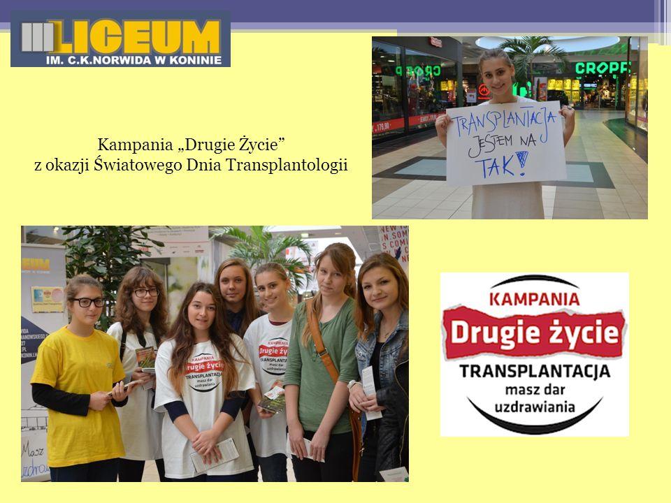 """Kampania """"Drugie Życie z okazji Światowego Dnia Transplantologii"""