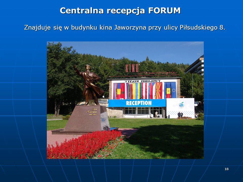 Znajduje się w budynku kina Jaworzyna przy ulicy Piłsudskiego 8.