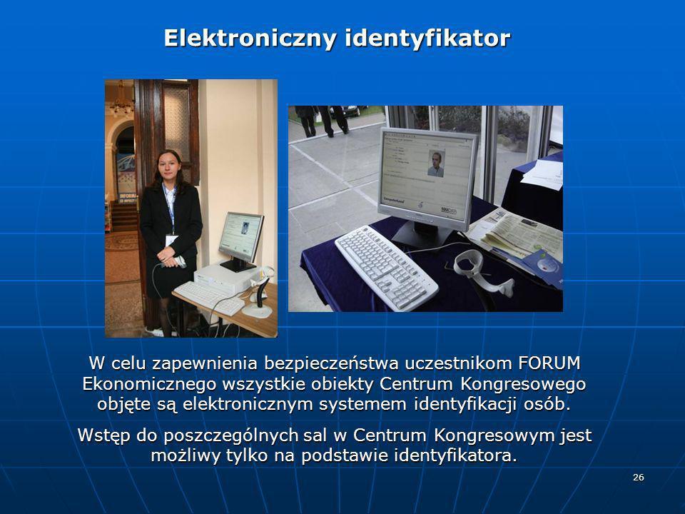 Elektroniczny identyfikator