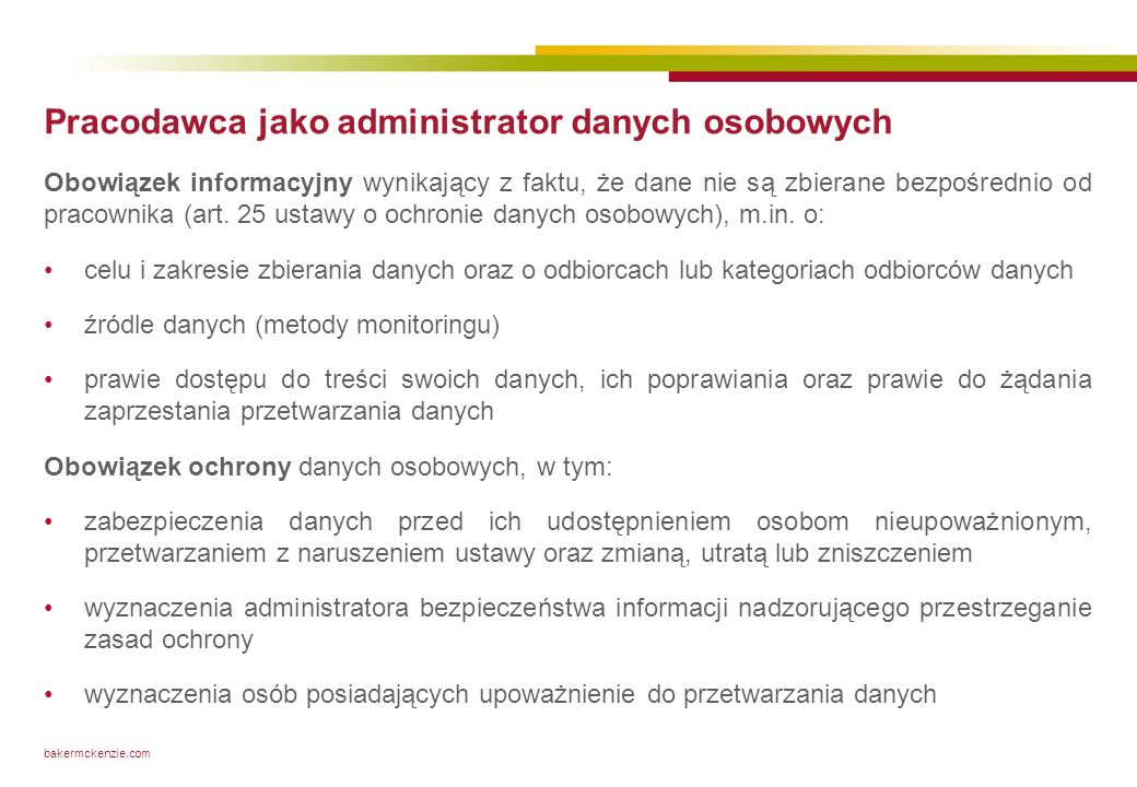 Transparentność reguł monitoringu