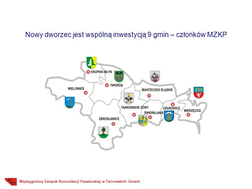 Nowy dworzec jest wspólną inwestycją 9 gmin – członków MZKP