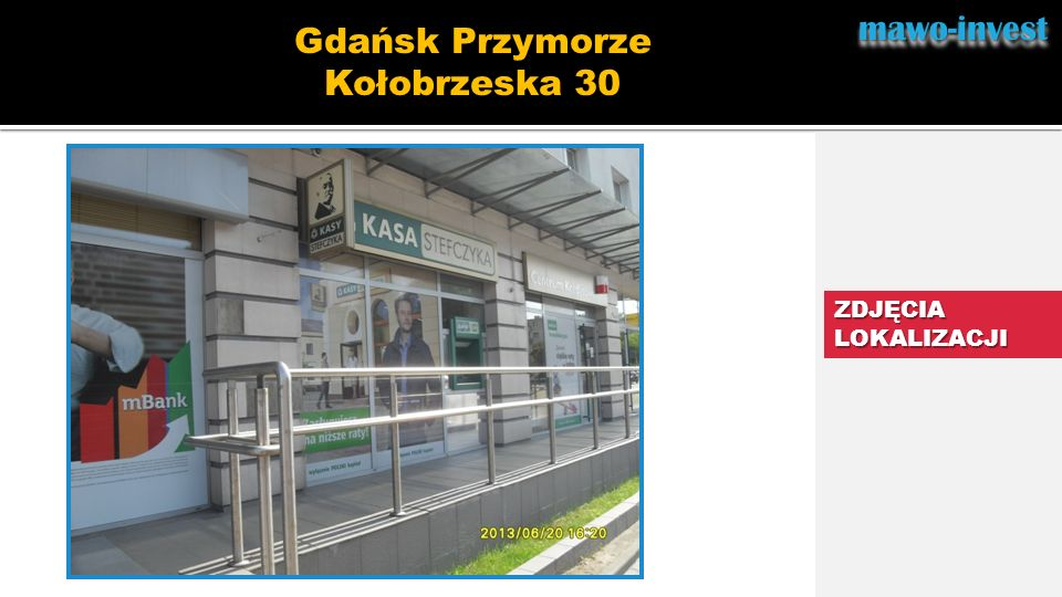 mawo-invest Gdańsk Przymorze Kołobrzeska 30 ZDJĘCIA LOKALIZACJI