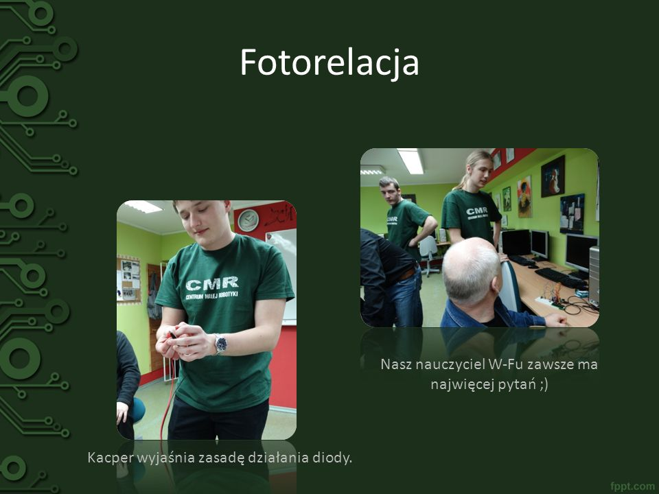 Fotorelacja Nasz nauczyciel W-Fu zawsze ma najwięcej pytań ;)