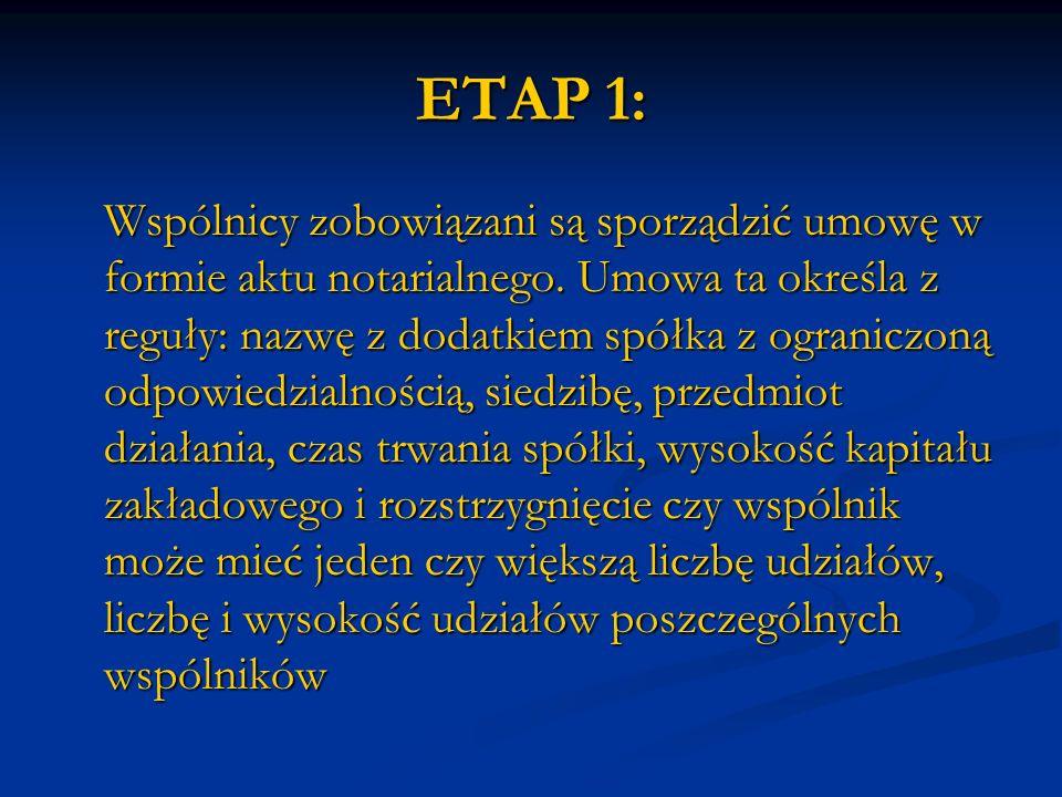 ETAP 1: