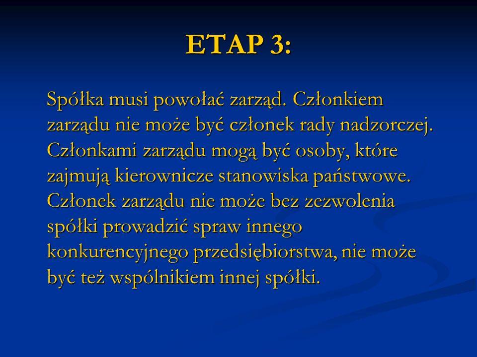 ETAP 3: