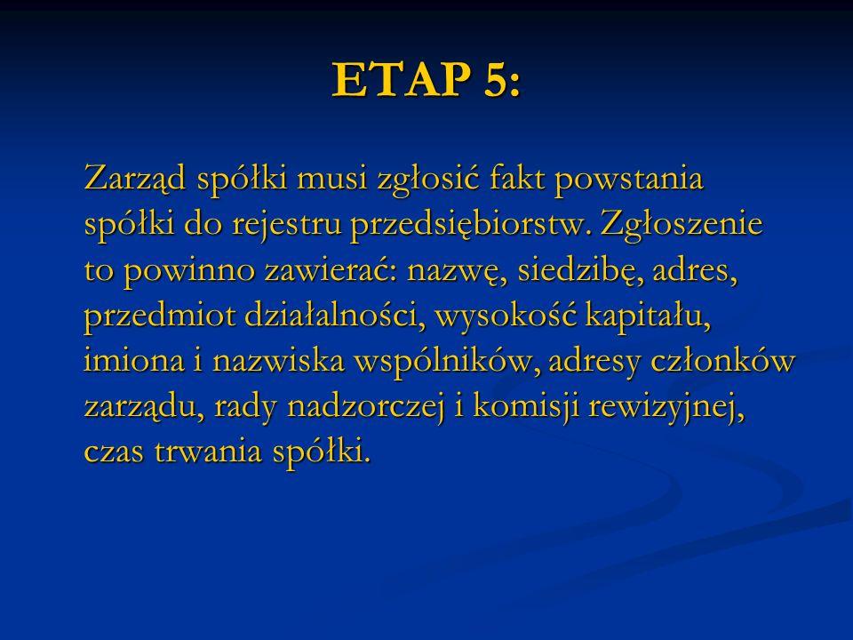 ETAP 5: