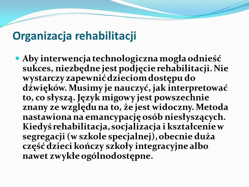 Organizacja rehabilitacji
