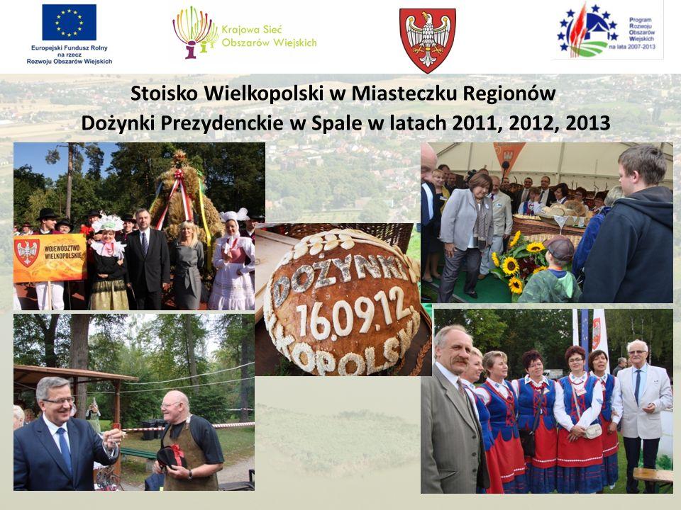 Stoisko Wielkopolski w Miasteczku Regionów