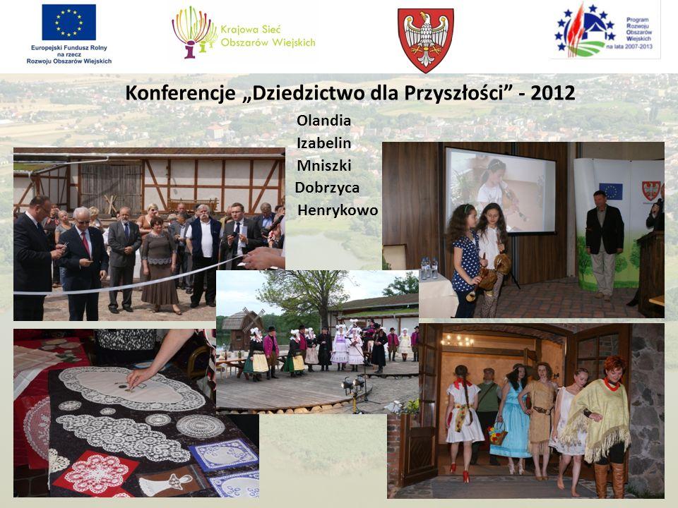 """Konferencje """"Dziedzictwo dla Przyszłości - 2012"""