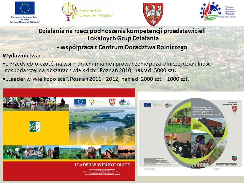 - współpraca z Centrum Doradztwa Rolniczego