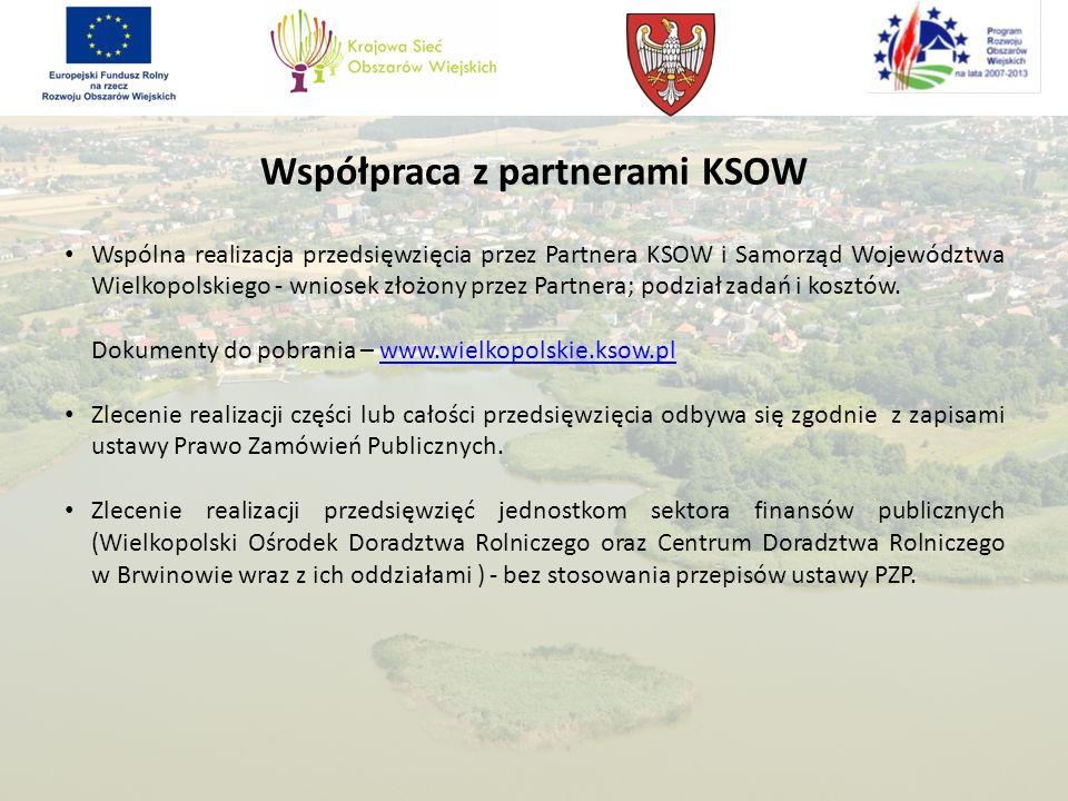 Współpraca z partnerami KSOW