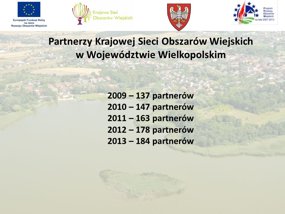 Partnerzy Krajowej Sieci Obszarów Wiejskich