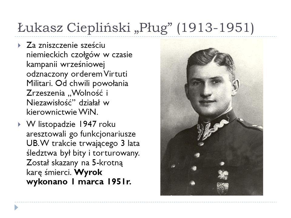 """Łukasz Ciepliński """"Pług (1913-1951)"""