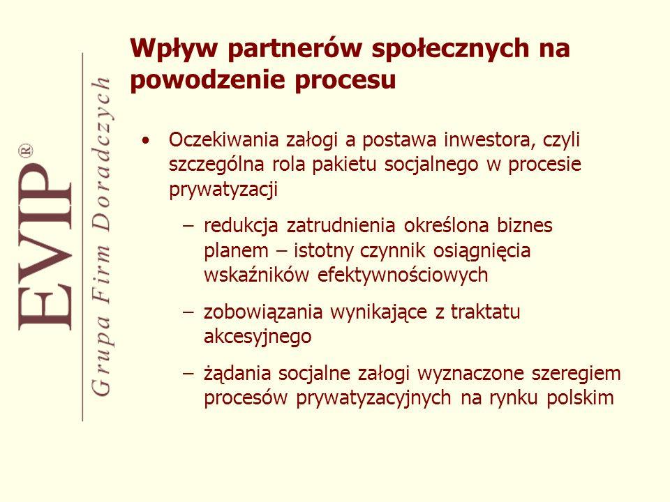 Wpływ partnerów społecznych na powodzenie procesu