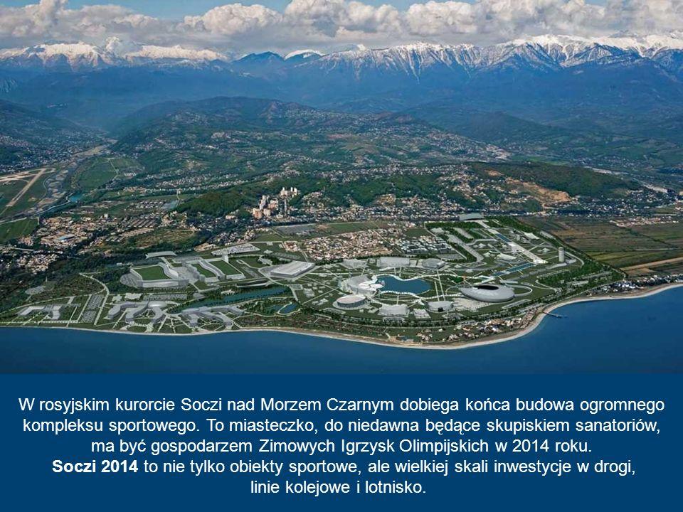 ma być gospodarzem Zimowych Igrzysk Olimpijskich w 2014 roku.