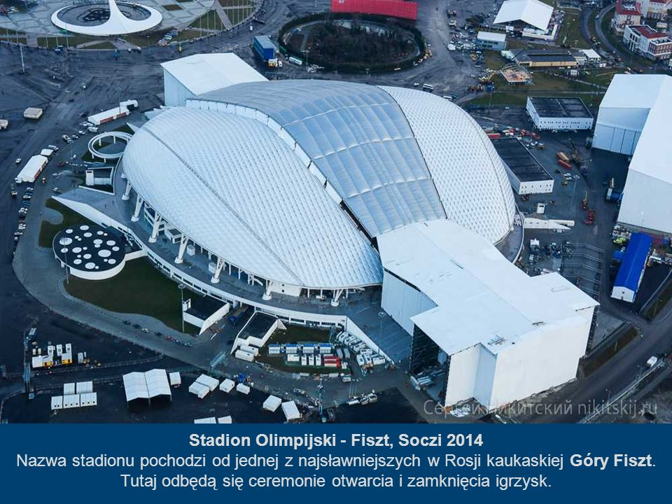 Stadion Olimpijski - Fiszt, Soczi 2014