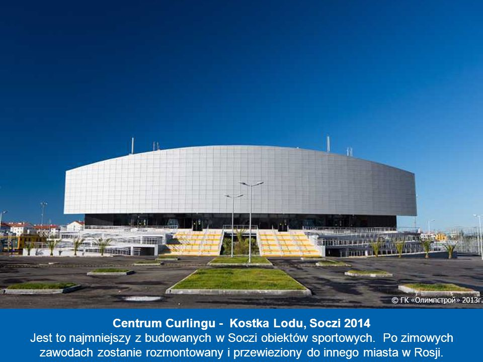 Centrum Curlingu - Kostka Lodu, Soczi 2014