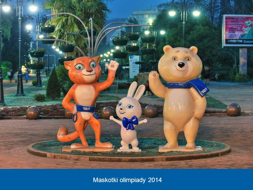 Maskotki olimpiady 2014