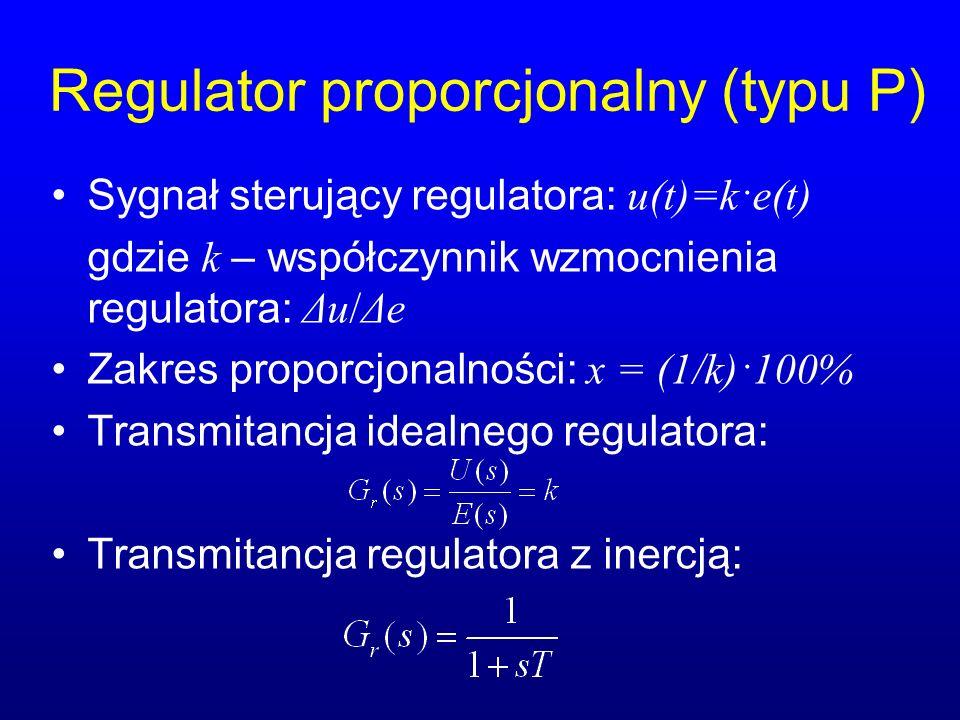 Regulator proporcjonalny (typu P)