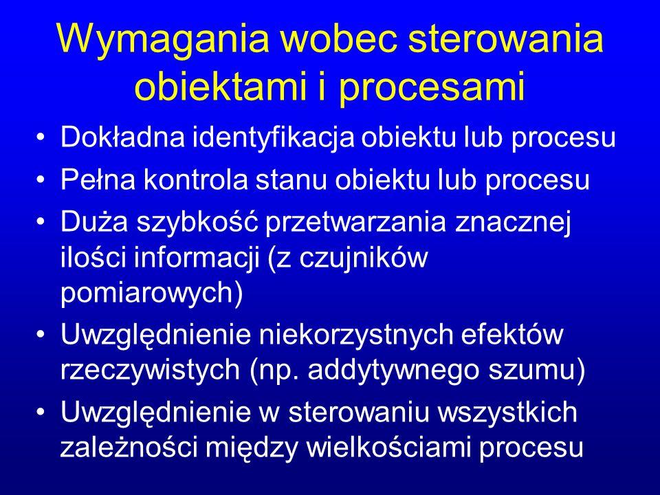 Wymagania wobec sterowania obiektami i procesami