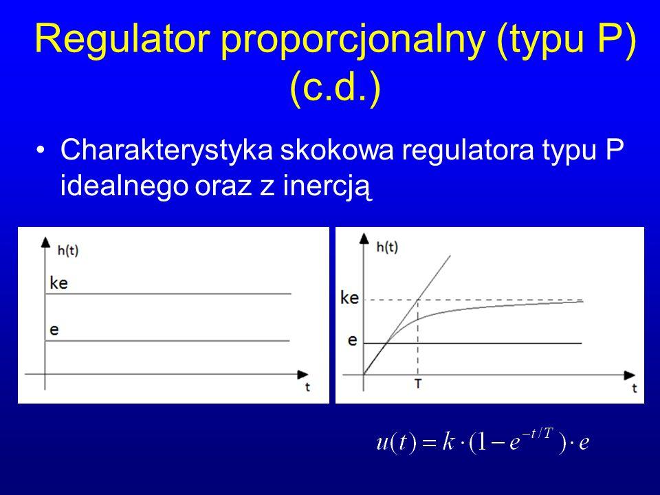 Regulator proporcjonalny (typu P) (c.d.)