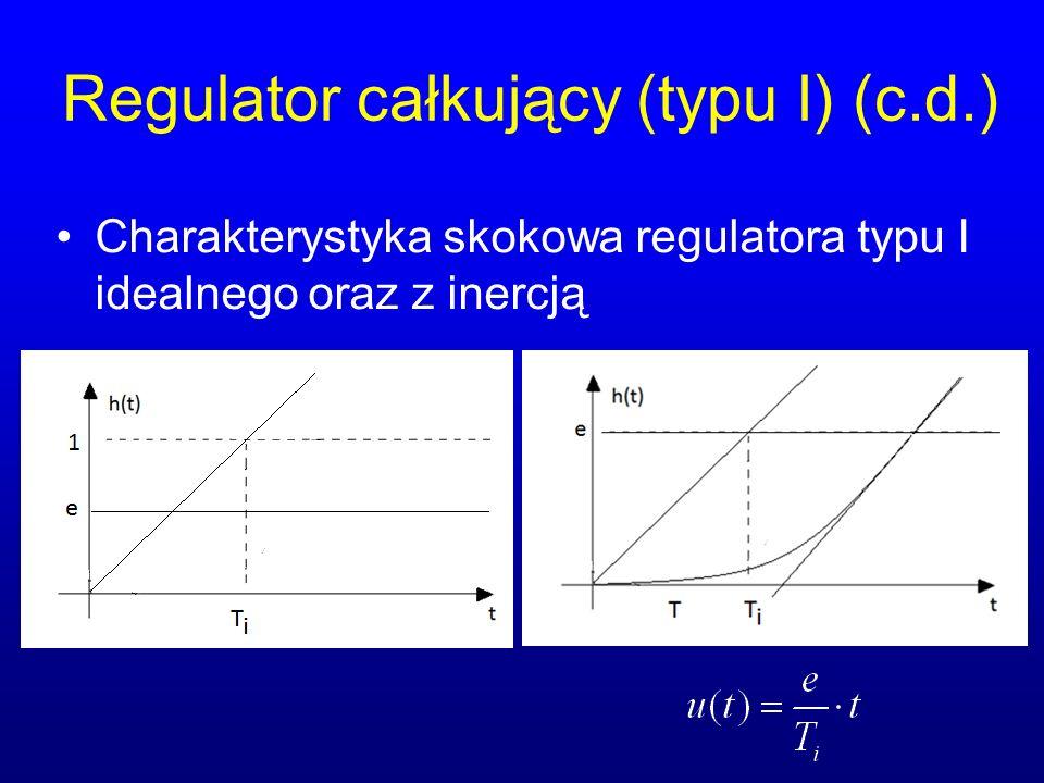Regulator całkujący (typu I) (c.d.)