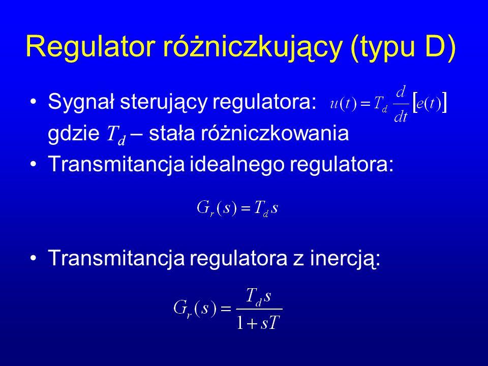 Regulator różniczkujący (typu D)