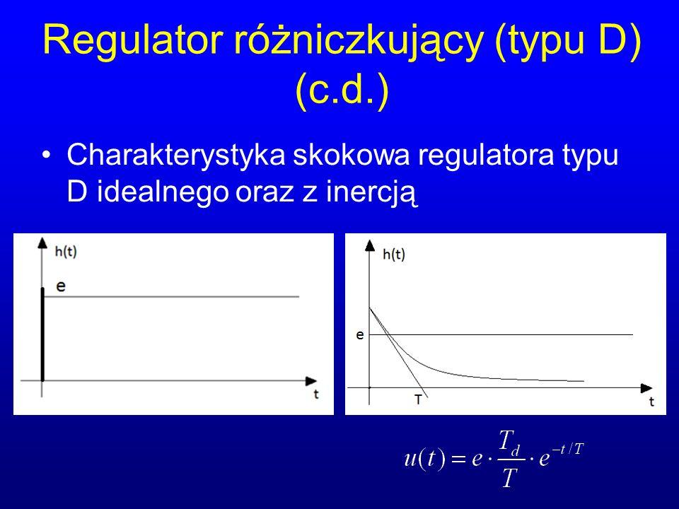 Regulator różniczkujący (typu D) (c.d.)