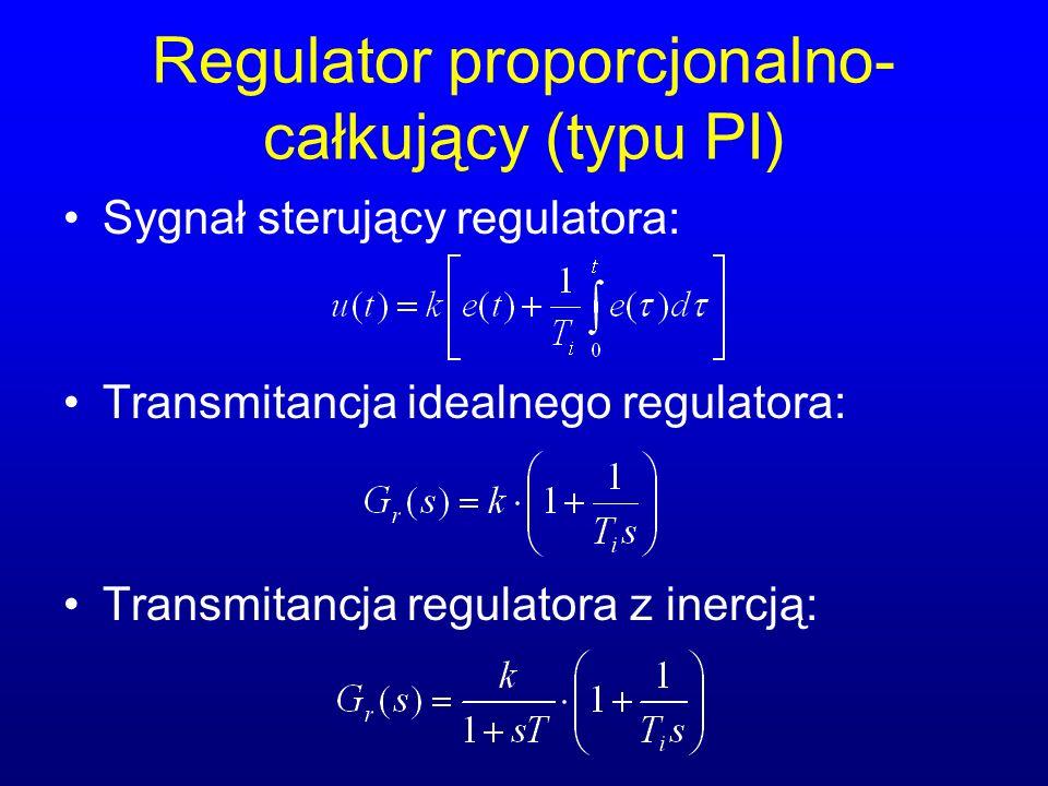 Regulator proporcjonalno-całkujący (typu PI)