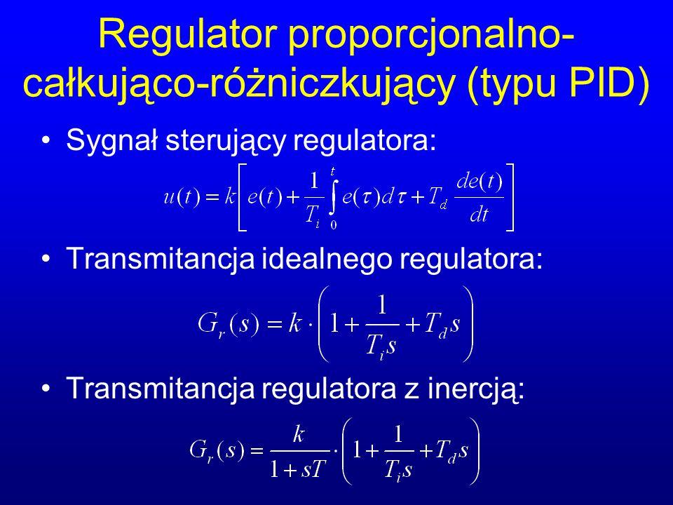 Regulator proporcjonalno-całkująco-różniczkujący (typu PID)