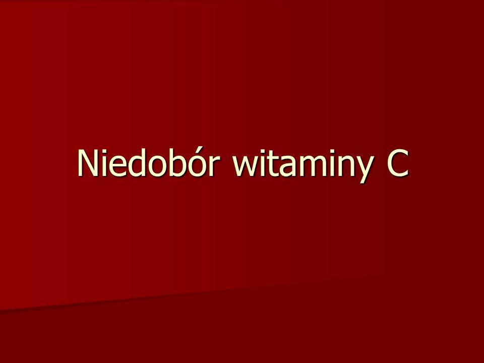 Niedobór witaminy C