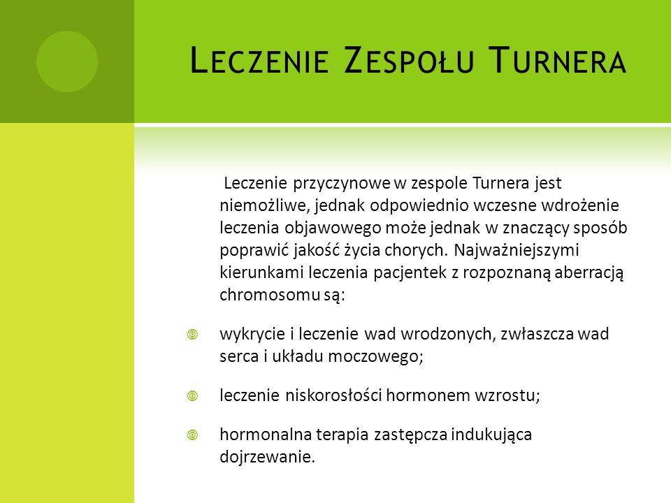 Leczenie Zespołu Turnera