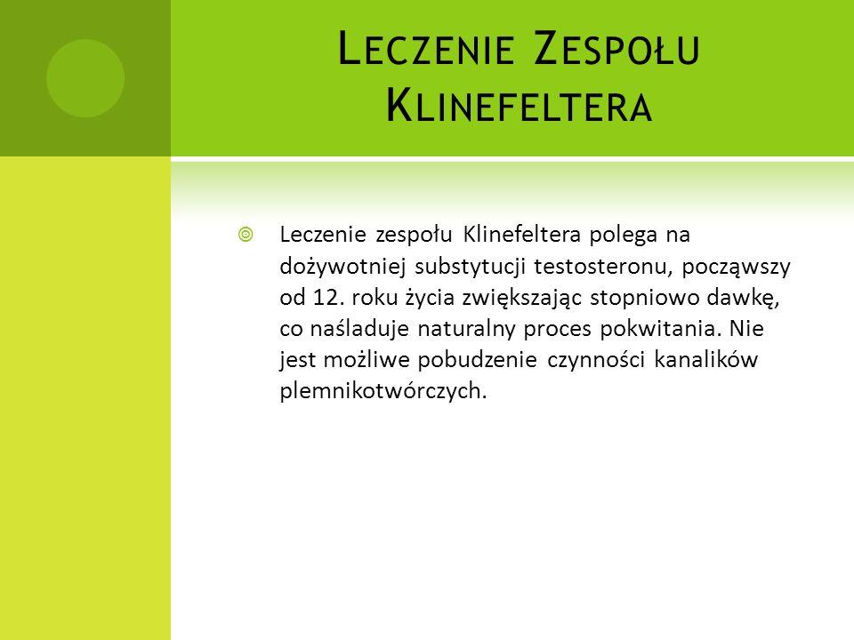 Leczenie Zespołu Klinefeltera