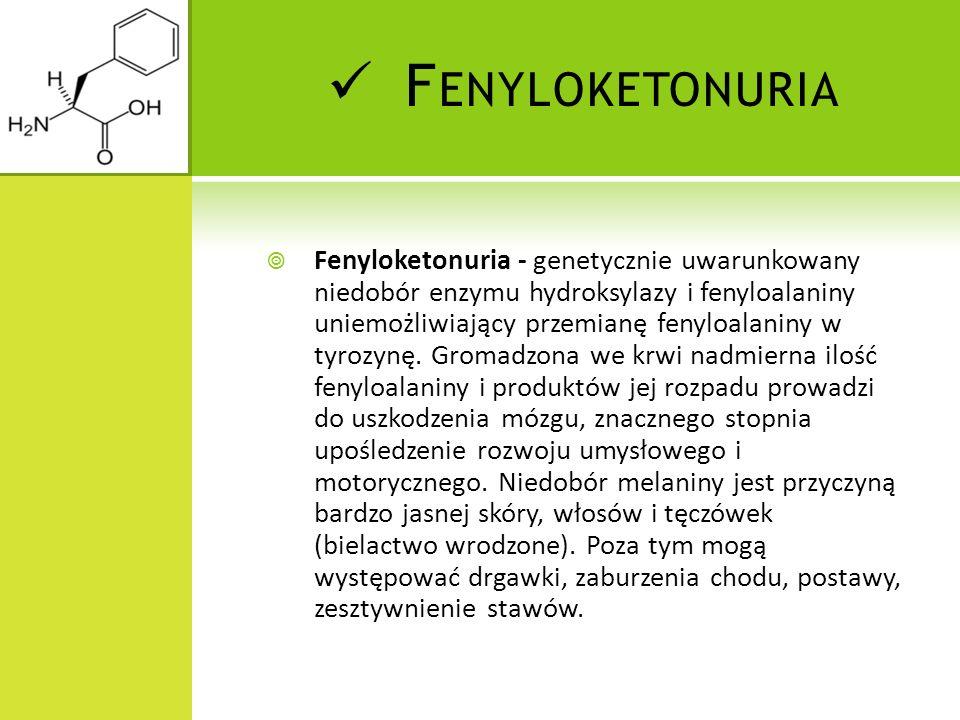 Fenyloketonuria