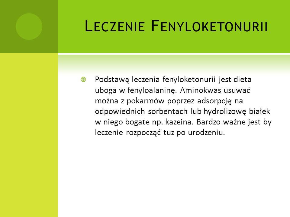Leczenie Fenyloketonurii