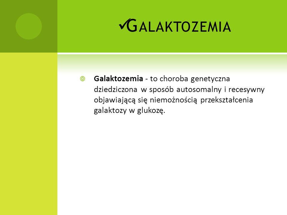Galaktozemia