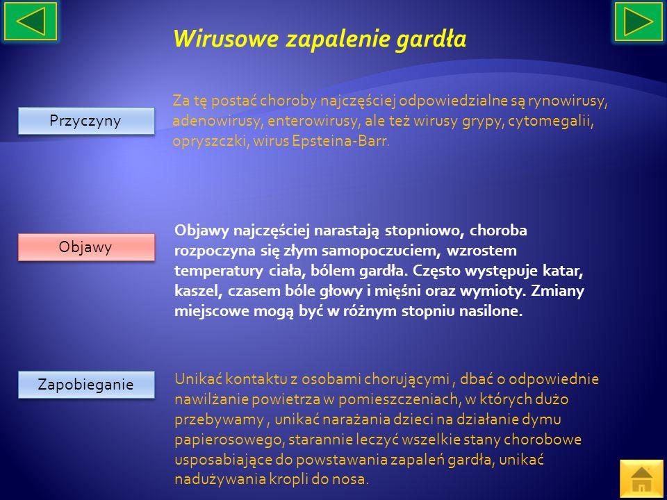Wirusowe zapalenie gardła